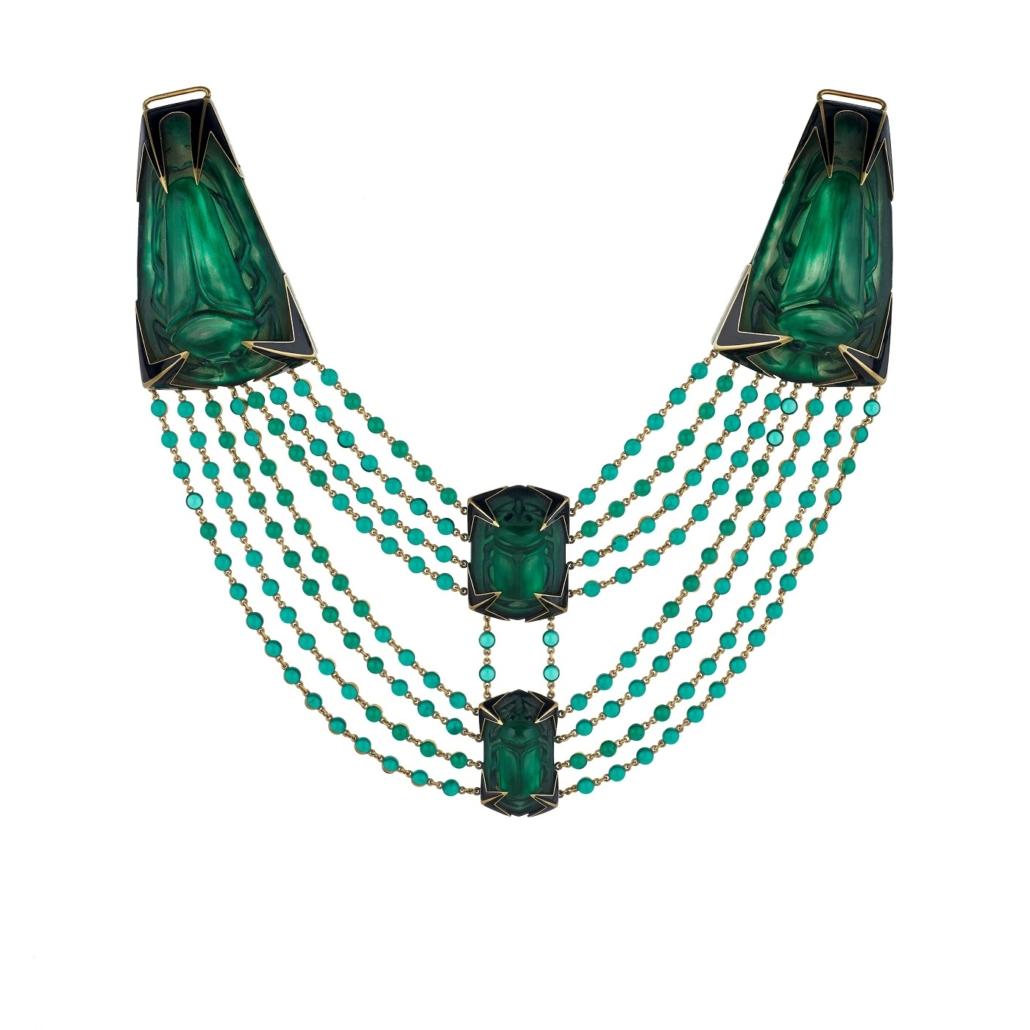 Galeria Wartski Lalique naszyjnik