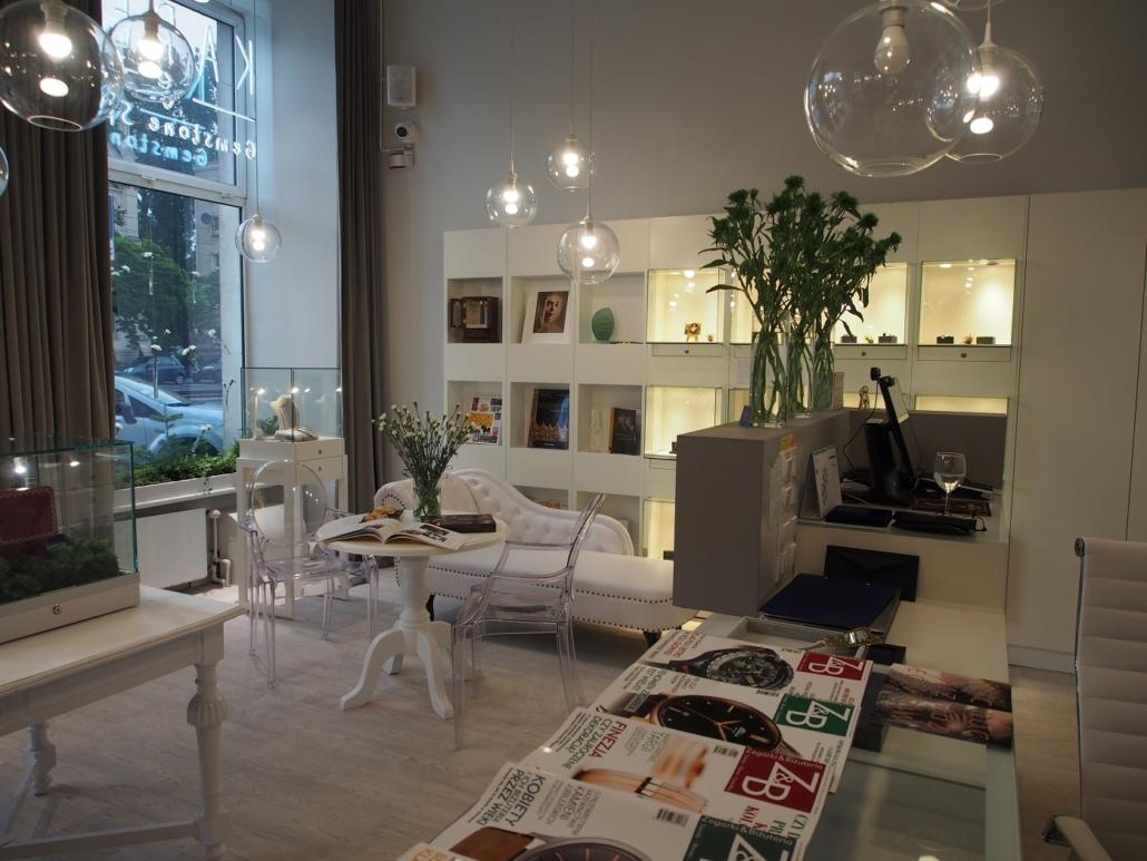 Przygotowania doNocy Muzeów Warszawa 2019 KAREA Gemstone Space