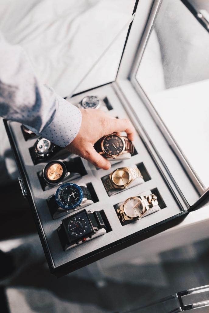 Przechowywanie zegarków