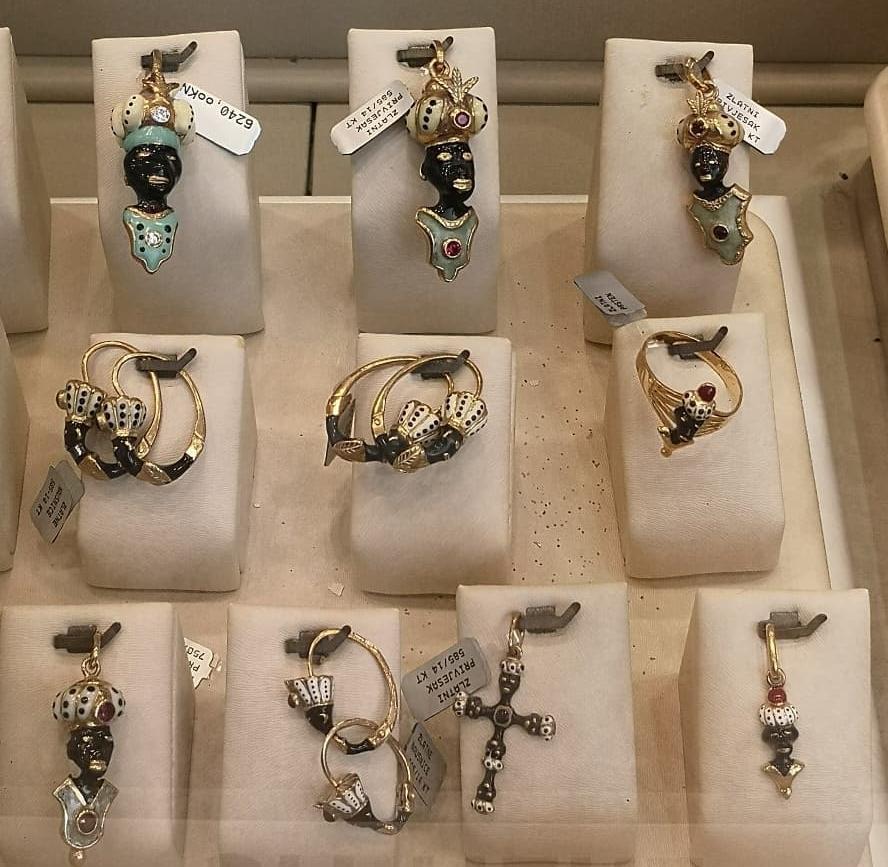 Chorwacka biżuteria ludowa zmotywem Maura