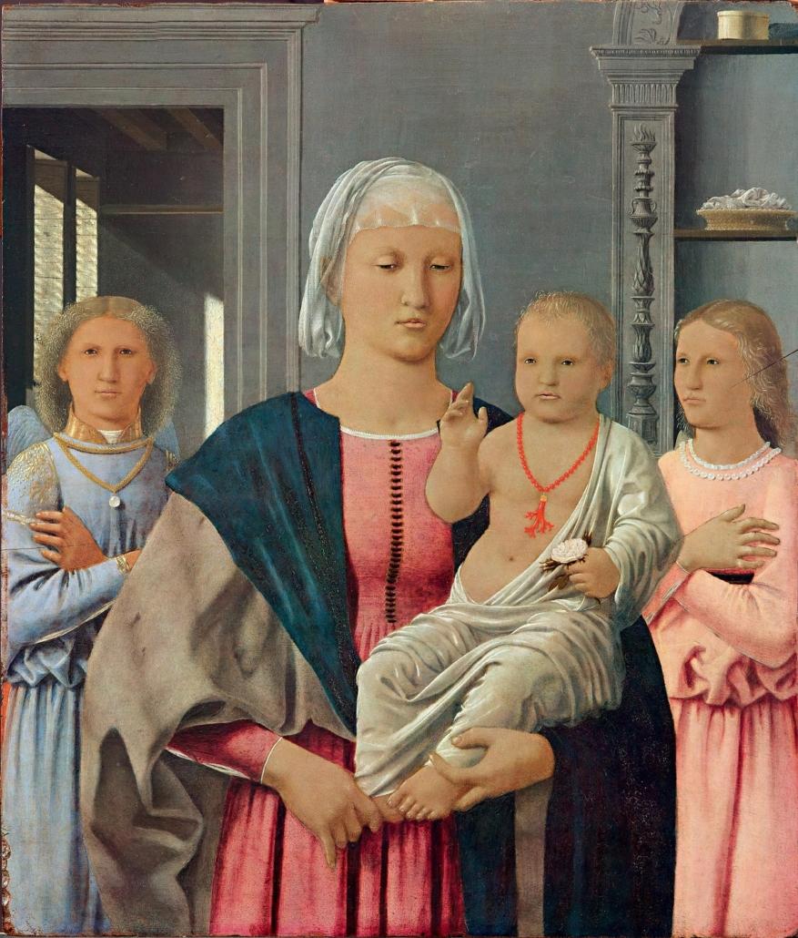 Madonna di Senigallia, Piero della Francesca, Galleria Nazionale delle Marche, Urbino