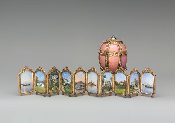 Jajko zwidokami duńskich pałaców (Danish Palaces Egg), 1890