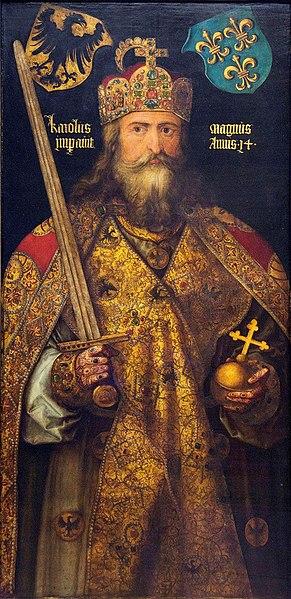 Albrecht Dürer, Emperor Charlemagne, 1512 r