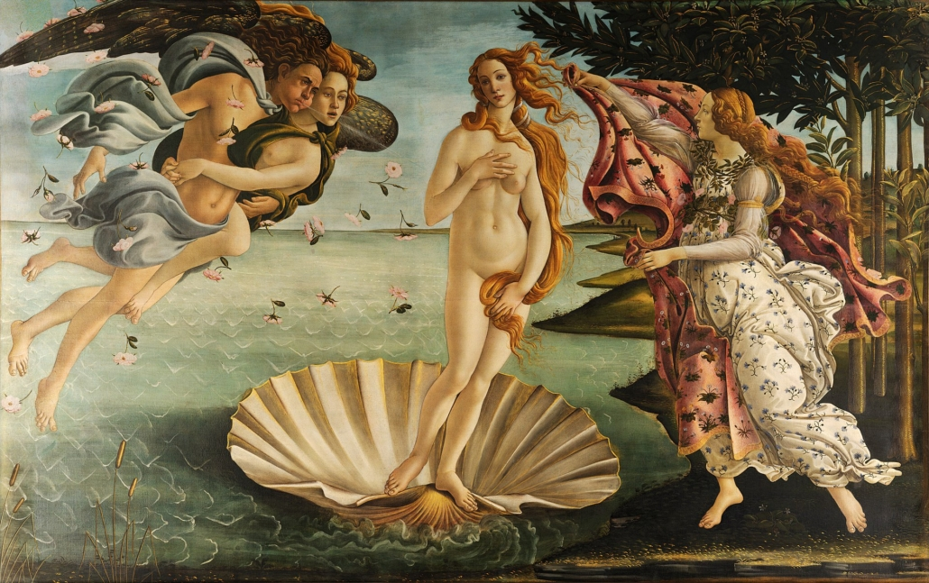 Sandro Botticelli, Narodziny Wenus, ok. 1485 r